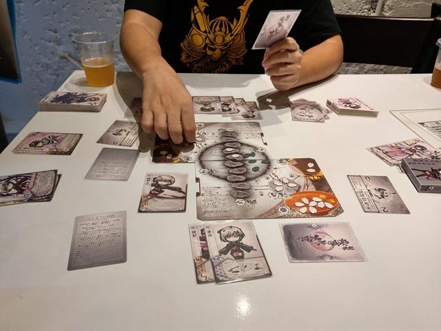 IMAG5632 thumb - 【訪問/レビュー】静岡駅近く!ボードゲームカフェ「game cafe BINGO」で「桜降る代に決闘を」体験会させてもらってきた!【ボードゲーム/グルメ】