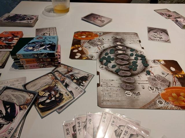 IMAG5636 thumb - 【訪問/レビュー】静岡駅近く!ボードゲームカフェ「game cafe BINGO」で「桜降る代に決闘を」体験会させてもらってきた!【ボードゲーム/グルメ】