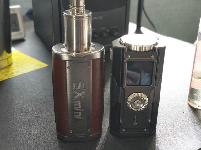 IMAG6111 thumb - 【レビュー】「YIHI SXMINI T CLASS SX580J 200W BOX MOD」レビュー。USB Type-C搭載中華ハイエンドマスプロMODはどこに向かうのか!?【ハンドスピナー付き/電子タバコ/フルカラー液晶/ジョグスティック】