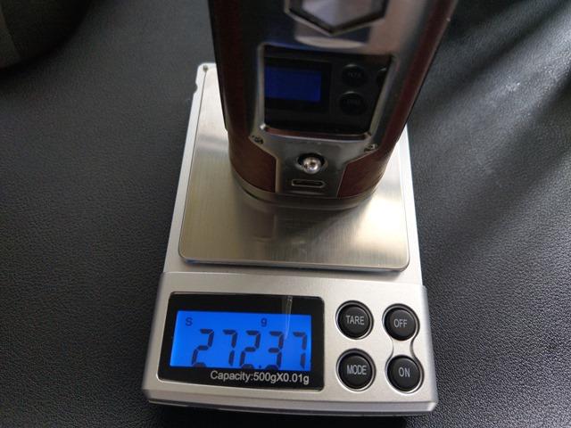 IMAG6118 thumb - 【レビュー】「YIHI SXMINI T CLASS SX580J 200W BOX MOD」レビュー。USB Type-C搭載中華ハイエンドマスプロMODはどこに向かうのか!?【ハンドスピナー付き/電子タバコ/フルカラー液晶/ジョグスティック】