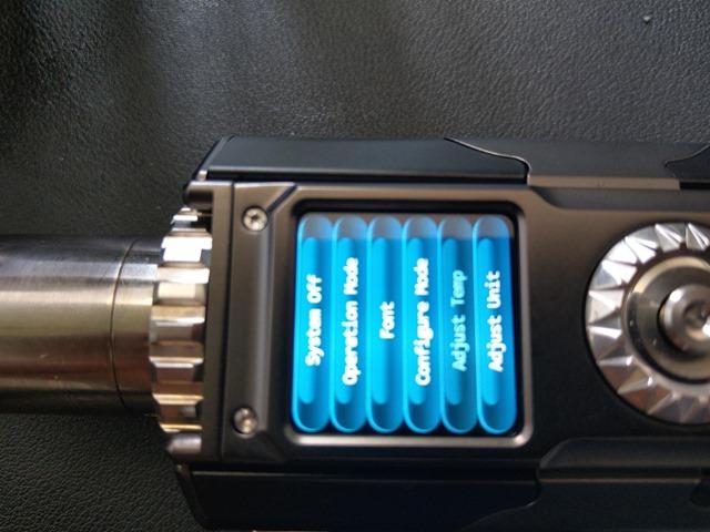 IMAG6120 thumb - 【レビュー】「YIHI SXMINI T CLASS SX580J 200W BOX MOD」レビュー。USB Type-C搭載中華ハイエンドマスプロMODはどこに向かうのか!?【ハンドスピナー付き/電子タバコ/フルカラー液晶/ジョグスティック】
