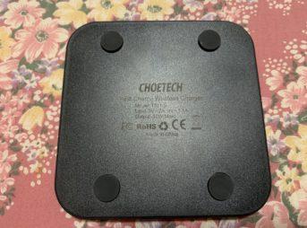 IMG 0756 343x254 - 【レビュー】CHOETECHのワイヤレス充電器とかを使ってみたよレビュー。これ、すごく良いんだ。5つのコイル/スマートフォン2台同時充電可能!【Qi認証済み/iPhone X/XS/XS Max/XR/8/8 Plus/Samsung Galaxy S10/S9/S9 Plus/S8/S8 Plus/Nexus 4/5/6】