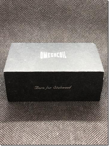 IMG 2670 thumb - 【レビュー】①ULTRONER OMEGA COIL MECHANICAL MOD(ウルトロナー オメガコイル メカニカル)レビュー~多くのアスモダス製品を排出するスタビライズドウッドMODメーカー(ΦдΦ)開封編~
