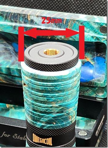 IMG 2675 thumb 1 - 【レビュー】①ULTRONER OMEGA COIL MECHANICAL MOD(ウルトロナー オメガコイル メカニカル)レビュー~多くのアスモダス製品を排出するスタビライズドウッドMODメーカー(ΦдΦ)開封編~