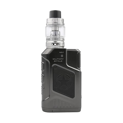authentic tesla p226 220w tc vw variable wattage box mod tind tank kit gun metal 7220w 2 x 18650 45ml thumb - 【海外】「ペトリコール日本語版」「ジュラシック・スナック 完全日本語版」「チーム3(グリーン/ピンク) 日本語版」「Tesla P226 220W TC VW Variable Wattage Box Mod + Tind Tank Kit」「ATVS Xipod Starter Kit 650mah」「Justfog Q16 Pro Mod 900mAh」