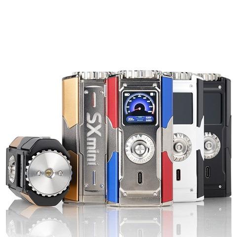 yihi sxmini t class sx580j 200w box mod all colors thumb - 【レビュー】「YIHI SXMINI T CLASS SX580J 200W BOX MOD」レビュー。USB Type-C搭載中華ハイエンドマスプロMODはどこに向かうのか!?【ハンドスピナー付き/電子タバコ/フルカラー液晶/ジョグスティック】
