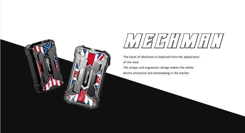66c19942ab4ba346fdb64ccc04cde373 1 - 【レビュー】RINCOE MECHMAN 228W MOD ちょっと重いけど、派手なデザインのいかついデュアルバッテリーモッドの紹介です!