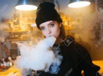 94063420 vaping girl young hipster woman vape e cig at the vapeshop hip hop style closeup thumb 202x150 - 【たばこ】米保健当局、電子たばことの関係疑われる肺疾患について調査/電子タバコもカラダに悪い?WHOが見解を発表