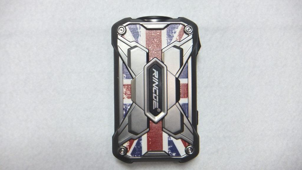 DSCF2401 1 e1566296186631 1024x576 - 【レビュー】RINCOE MECHMAN 228W MOD ちょっと重いけど、派手なデザインのいかついデュアルバッテリーモッドの紹介です!