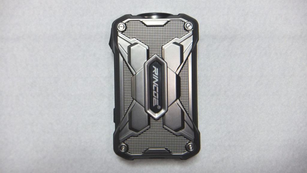 DSCF2402 e1566296299956 1024x576 - 【レビュー】RINCOE MECHMAN 228W MOD ちょっと重いけど、派手なデザインのいかついデュアルバッテリーモッドの紹介です!