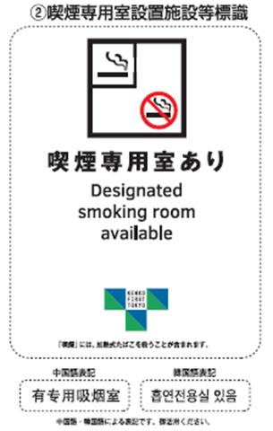 EBK80XQU8AAnPV5 thumb - 【NEWS】「禁煙・喫煙状況の展示が義務付け」店舗の入り口にステッカーで表示が義務化、2019年9月1日より!