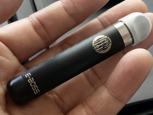 IMAG7221 thumb - 【レビュー】E-BOSS VAPE GT VAPE Kitレビュー!POD型コンパクトなスターターキット。吸えば自動でミスト湧く!リアタバ代わりにどうですか?