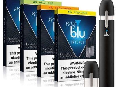 myblu intense bundle thumb 400x300 - 【雑記】mybluの互換podを使ってみた。mybluが広まればベイパーへの偏見や誤解をなくせるんじゃないかって話。【マイブルー/クローズドシステム】