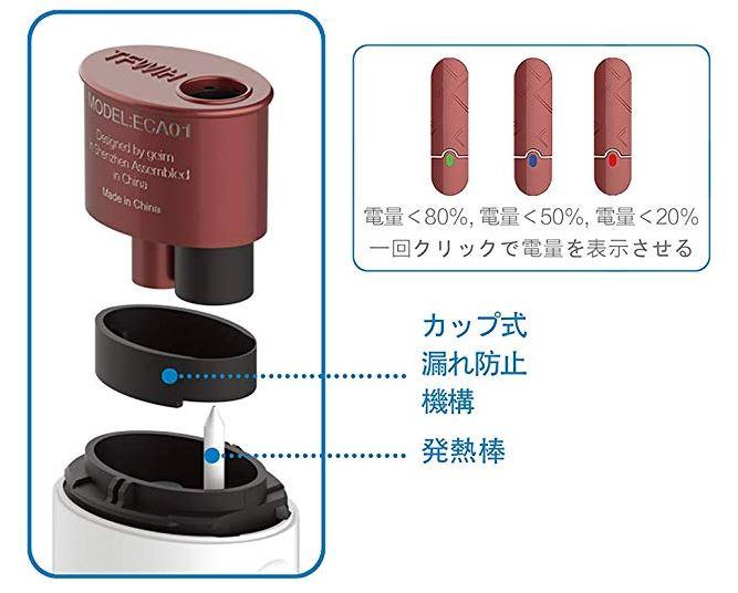 66c19942ab4ba346fdb64ccc04cde373 1 - 【レビュー】IQOS互換機 TFWIH 新しいアイコス互換機が来ました! こいつの特徴は、簡単操作、大容量バッテリーで喫煙本数が多いこと!!【アイコス/IQOS/加熱式電子タバコ/ヴェポライザー】