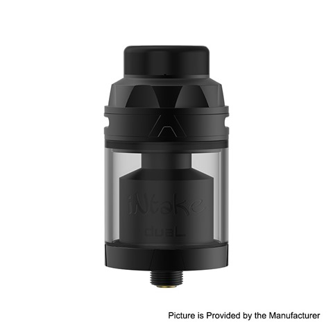 authentic augvape intake dual rta rebuildable tank atomizer black stainless steel 42ml 58ml 26mm diameter thumb - 【海外/ボドゲ】「ブルーノ・フェイドゥッティのマスカレイド 日本語版 (Mascarade)」「ディープ・ブルー 日本語版 (Deep Blue)」「Cthulhu Mulan MTL RDTA」
