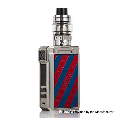 authentic voopoo alpha zip 180w tc vw apv box mod maat tank kit stars 4ml 013 02ohm 5180w 2 x 18650 thumb - 【海外】「Timesvape Diesel RTA」「VOOPOO ALPHA Zip 180W TC VW APV Box Mod + Maat Tank Kit」「DOVPO Topside Dual 200W TC VW Variable Wattage Squonk Box Mod」
