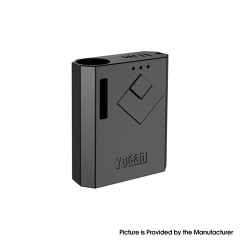 authentic yocan wit 500mah battery box mod for 510 thread atomizer pearl black thumb - 【海外】「Thunderhead Creations Tauren-X-Pod RBA VW 25W 1000mAh Pod System Starter Kit」「Acrohm Fush Nano 10W 550mAh Pod System Starer Kit」
