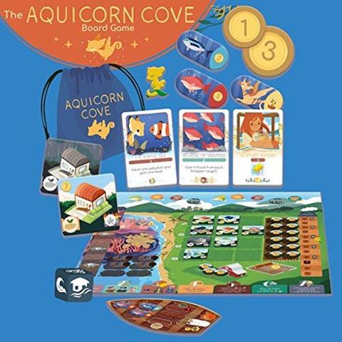 5183k3hy6hL thumb - 【ボドゲ】「社長は定時で帰る」「ドームだったら何個分!?」「Aquicorn Cove ザ・ボードゲーム」「アリスと不思議なお茶会」