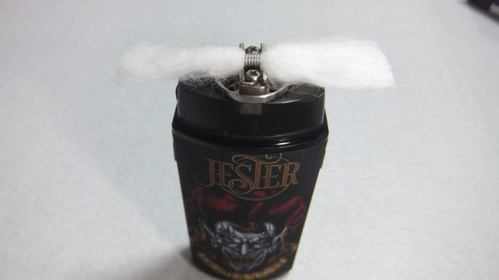 DSCF2647 1024x576 - 【レビュー】Vapefly JESTER(ベイプフライ ジェスター)レビュー。リビルドできるポッド型ベイプが登場!これからはこのタイプが主流になる?!【CBD対応スターターキット/リビルド可能POD】