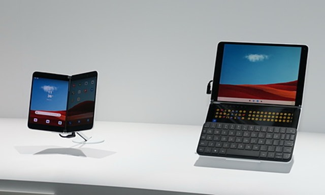 surface duo neo l thumb - 【ガジェット】Android搭載のSurface Duoは「スマホではない」 米マイクロソフト副社長【泥/Android/アンドロイド/Microsoft】