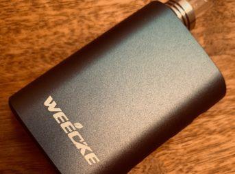 IMG 5854 343x254 - 【レビュー】名ヴェポライザーの大幅バージョンアップ「Weecke C Vapor 4.0」味も美味くてこれはオススメ!