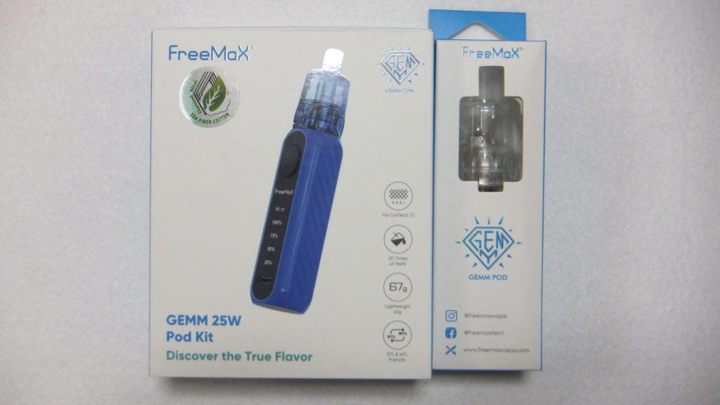 DSCF2818 scaled e1580213332197 1024x576 - 【レビュー】FreeMax GEMM POD MOD KIT 25W すんごい軽い使い捨てアトマイザーのポッドタイプ!だけど味もしっかり出ていて優秀ですよ!