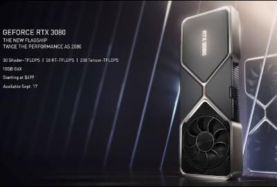 29 l 400x270 - 【自作PC】NVIDIAがGPU発表 RTX3060/2070/3080 価格はRTX3070 \79,980($499)など [サーバル★]