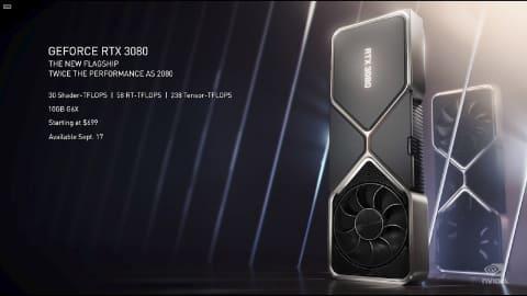 29 l - 【自作PC】NVIDIAがGPU発表 RTX3060/2070/3080 価格はRTX3070 \79,980($499)など [サーバル★]