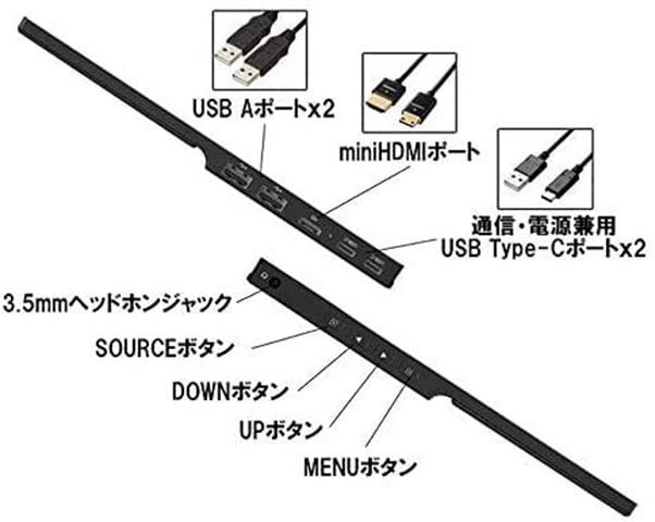 41bFuR1xmEL thumb - 【レビュー】QLED搭載恵安(KEIAN)13.3インチフルHDモバイル液晶モニターレビュー。HDMI/USB Type-C2つ搭載、スマホからの給電にも対応したスグレモノモニタ!