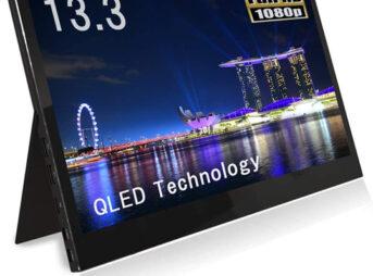 61L gSvEVXL. AC SL1033 thumb 343x254 - 【レビュー】QLED搭載恵安(KEIAN)13.3インチフルHDモバイル液晶モニターレビュー。HDMI/USB Type-C2つ搭載、スマホからの給電にも対応したスグレモノモニタ!