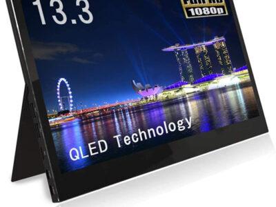 61L gSvEVXL. AC SL1033 thumb 400x300 - 【レビュー】QLED搭載恵安(KEIAN)13.3インチフルHDモバイル液晶モニターレビュー。HDMI/USB Type-C2つ搭載、スマホからの給電にも対応したスグレモノモニタ!