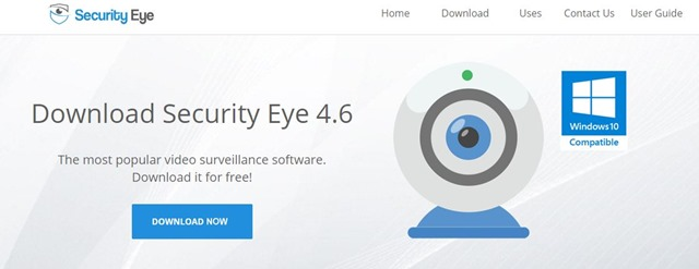 SecurityEyetop thumb - 【レビュー】Security Eye(セキュリティアイ)レビュー。WEBカメラ、ネットワークカメラの自動録画・管理が可能な便利ユーティリティ!ペットの留守監視や録画などに