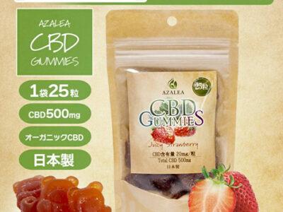 imgrc0078394692 thumb 400x300 - 【レビュー】手軽に消費できるCBDグミ!!「Azalea CBD Gummies」レビュー。