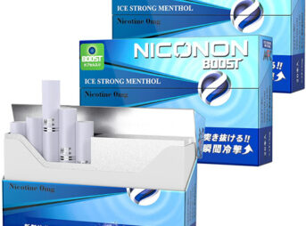 81QxC n OlS. AC SL1500 thumb 343x254 - 【レビュー】「NICONON(ニコノン)スターターキット&ICE STRONG MENTHOL(アイスストロングメンソール)」超刺激的メンソフレーバーレビュー。タバコの代替機として!?