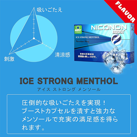 81Zp5agKVwS. AC SL1500 thumb - 【レビュー】「NICONON(ニコノン)スターターキット&ICE STRONG MENTHOL(アイスストロングメンソール)」超刺激的メンソフレーバーレビュー。タバコの代替機として!?